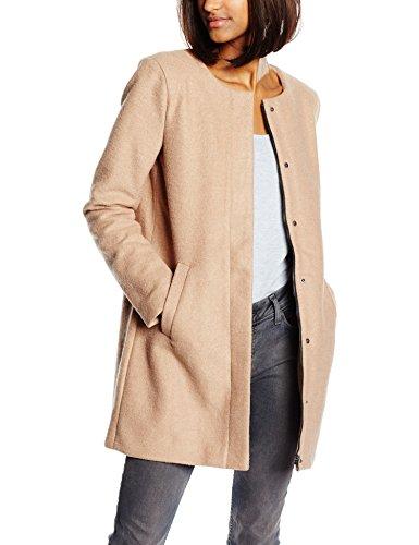 only damen mantel 15109087 beige camel 36. Black Bedroom Furniture Sets. Home Design Ideas